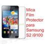 Mica Film Protector Samsung Galaxy S2 Lamina I9100 Ii S 2