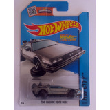 Hot Wheels Time Machine Hover Mode Delorean Volver Al Futuro