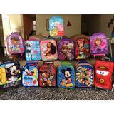 Pack De Mochilas Originales De Disney( Iasakids Y Scool)
