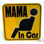 Stickers Mama In Car Dia De La Madre Mama Embarazada