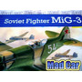 Mc Mad Car Maqueta Soviet Fighter Mig-3 Avion 1:72