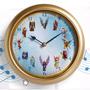 Reloj Musical De Pared Angeles