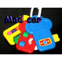 Mc Mad Car 3 Llaves Fisher Price Juguete Para Bebe Original