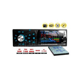 Auto Radio Reproductor Mp3,usb, Sd, Radio Fm, Aux + Control