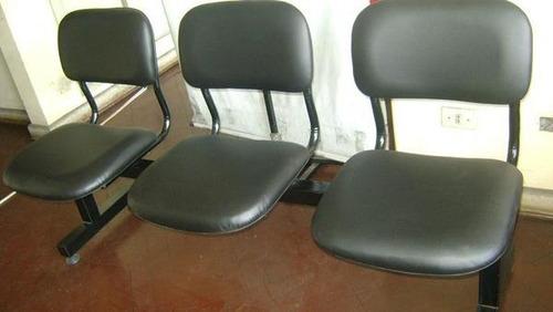 Silla de espera de 03 cuerpos ideal para oficinas y for Sillas de oficina peru