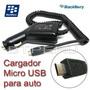 Cargador Auto Para Blackberry Q5 Q10 9220 9320 9780 9790 Z10