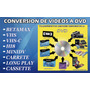 Conversion Vhs - Transfer - Betamax - Minidv - Hi8 - Vinil