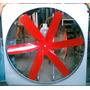 Extractor De Aire, Ventilador Helice 6 Aspas Industrial, 1hp