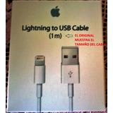 Cable Usb Lightning Iphone 5 5c 5s/6 6s 7 Plus-se,original !