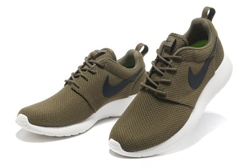 Nike Roshe Run Mujer Verde Militar