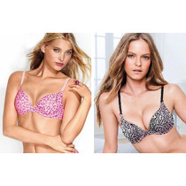 Brasieres Victoria Secret Push Up Talla 34dd Traido De Usa