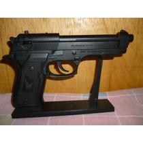 Encendedor Pistola Beretta Color Negra Recargable