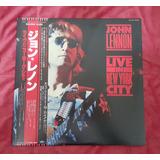 John Lennon - Live In New York City (japan Pressing W/obi)