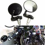 Par De Espejos Café Racer Moto - Honda - Harley Y Otros