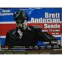 Brett Anderson Suede Poster Presentacion En Lima 2009