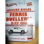 Hot Wheels / Pontiac Fiero 1984/ Ferris Bueller´s Day Off