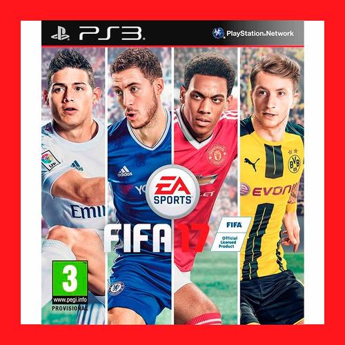 Fifa 17 Ps3 Digital Incluye El Pase En Linea Oferta
