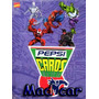 Mc Mad Car Pepsi Card X Unidad Marvel Comics Spiderman Album