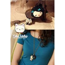 Tienda Neko Lucky - Collar Japanese Doll Con Espejo