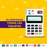 Pos Poket Vendemas + Kit Incluye Publicidad Visa Y Stiker