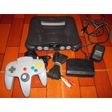 Consola Nintendo 64 N64 Original Set Completo Abuelogamer
