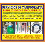 Servicio De Tampografia Maquinas Neumaticas