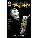 Batman Final Del Juego / Endgame / Tapa Dura / Ecc Comics