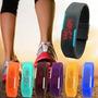Reloj De Silicona Deportivo Unisex Digital Colores Variados