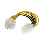 Extensión Adaptador Convertidor Cable Fuente 4 A 8 Pines