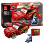 Cars, Lightning Mcqueen Armable, 241 Piezas