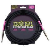 Cable Para Instrumento Ernie Ball 6046 Ultraflex Recto/recto