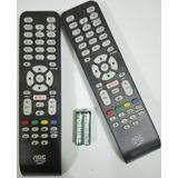 Control Remoto Aoc Smart Tv Lcd/led+pilas Entrega Inmediata