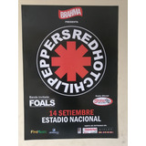 Poster Afiche Concierto Red Hot Chili Peppers En Lima Rock
