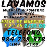 Lavado Limpieza De Muebles, Alfombra, Colchones 984238578