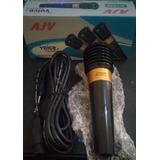 Microfono Avj J-1522 Oferta Karaoke Equipo Voz