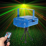 Proyector Laser Luces Led Puntos Mosaicos Audioritmico