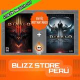 Diablo 3 Iii Clásico + Reaper Of Souls Pc Digital Y Físico