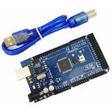 Arduino Mega 2560r3 Atmega16u2 + Cable Identico Al Original