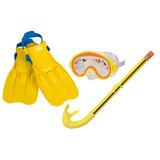 Snorkel, Set De Buceo  Niños (talla Del 35 Al 37)