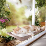 Cama Colgante Hamaca Lavable Para Gato Para La Ventana