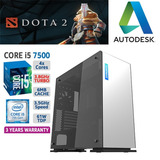 Cpu Gamer Core I5 7tma. Ram 8gb Hdd 1tb Gtx 1050 2gb Ddr5