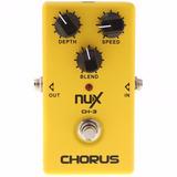Nux Ch3 Vintage Chorus Pedal Modulador Para Guitarra