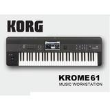 Korg Krome 61 Sintetizador Workstation 5/8 Teclado Piano