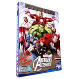 Cuentos Los Vengadores-avengers Assemble 8 Tomos+ Cd Origina