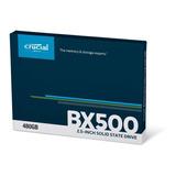 Ssd 480gb Crucial Bx500 3d Nand Sata 2,5
