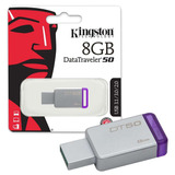 Memoria Usb 8gb Kingston Dt50 Sellado X Mayor Y Menor
