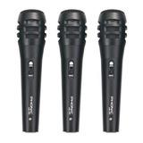 Pack De Tres Micrófonos Dm700, Phonic