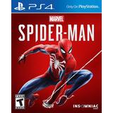 Marvel Spiderman Ps4 Disponible