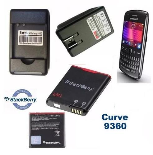 Cargador Y Bateria Original Blackberry Em1 9350 9360 Curve