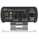 Monitor Personal In Ear Behringer P-1  Powerplay  De Oido P1